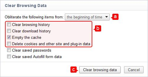 website-problem-solving-cache-chrome-options-clear-browsing-data