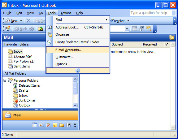 outlook-tools-emailaccounts