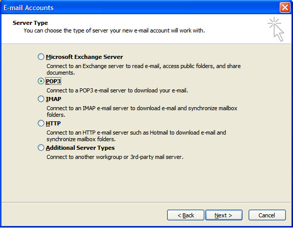 outlook-servertype-pop3