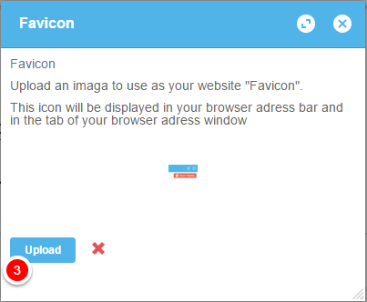 how to set favicon on website