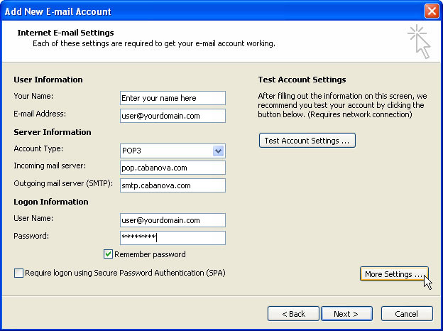 outlook2007-account-settings
